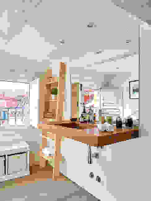 Un Ático con Vistas ND Interiorismo & Decoración Baños de estilo moderno