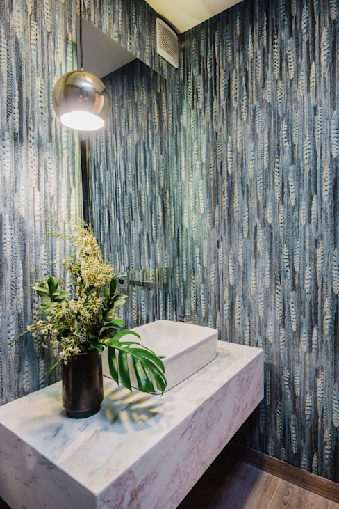 Banheiros modernos por Luis Escobar Interiorismo Moderno