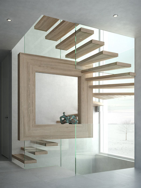Mistral Magic Siller Treppen/Stairs/Scale Stairs Wood Brown