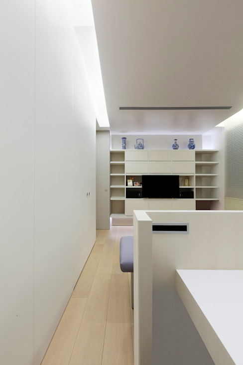 毛宅 Mao Residence 根據 何侯設計 Ho + Hou Studio Architects 現代風