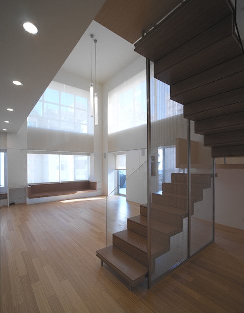Stairs by  何侯設計   Ho + Hou Studio Architects