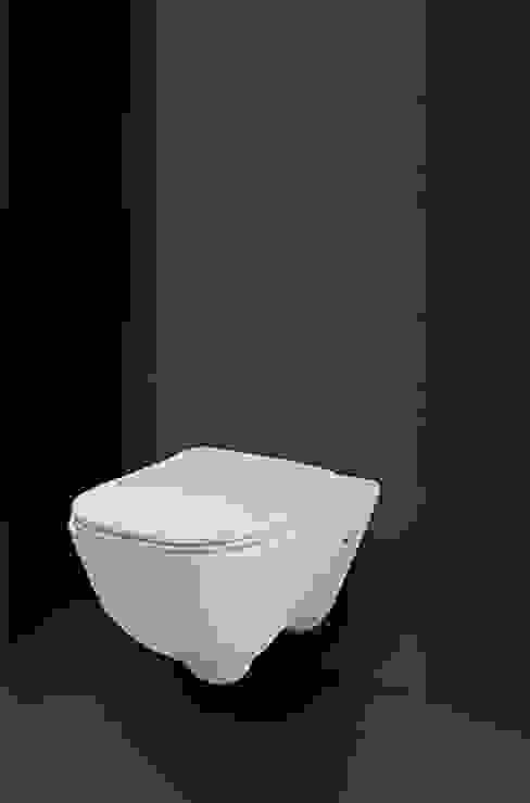 Wall Mounted Water Closet (Matte White) - Le Forme queobathrooms Modern Bathroom Ceramic White