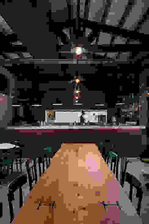 manuarino architettura design comunicazione Industrial style bars & clubs Iron/Steel Brown