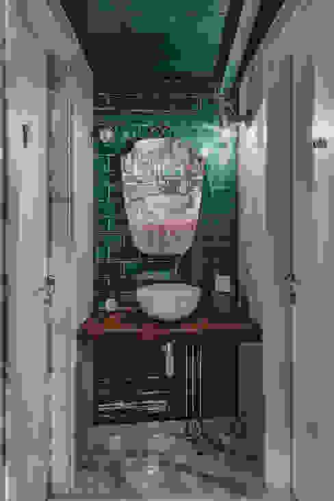 manuarino architettura design comunicazione Industrial style bars & clubs Tiles Green