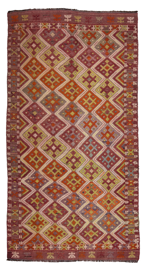 classic  by Heritage Nomadic Art Gallery, Classic Wool Orange
