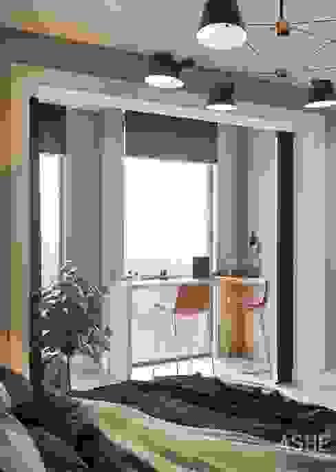 Интерьер квартиры в ЖК Тихая Роща от Студия авторского дизайна ASHE Home Эклектичный