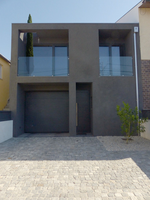 habitar 4 Pedrus - Arquitetura Casas modernas