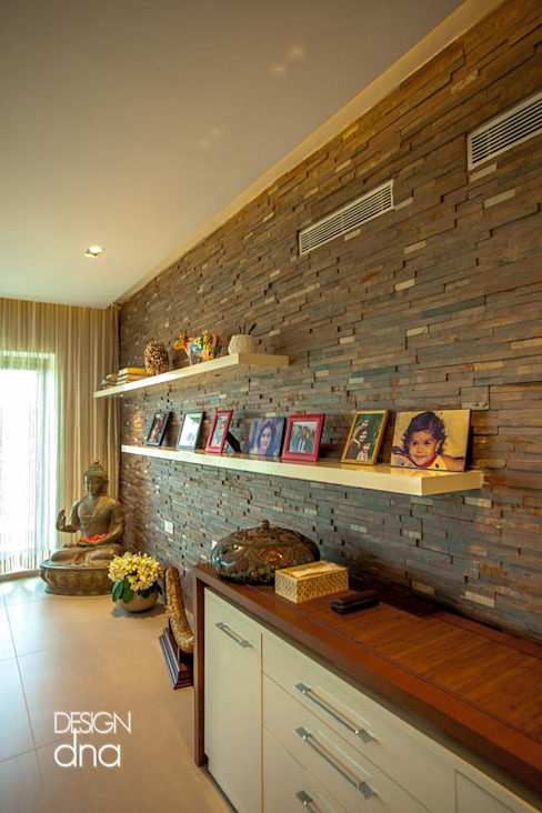 Wall Modern walls & floors by Design DNA Hyderabad Modern