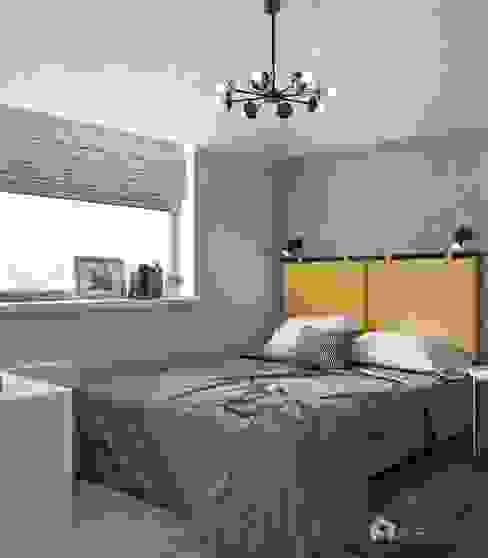 Спальня: Спальни в . Автор – Архитектурная студия 'АВТОР', Эклектичный