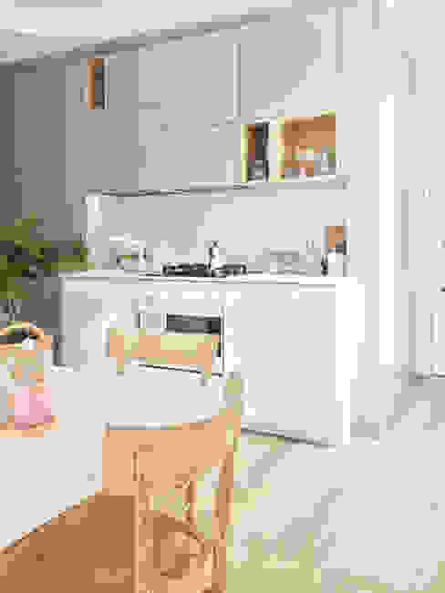 CUCINA E PRANZO Spazio 14 10 di Stella Passerini Cucina minimalista