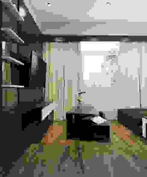 Apartemen The Jarrdin Bandung Maxx Details Ruang Keluarga Modern