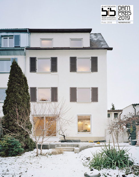 Terrace house by AMUNT Architekten in Stuttgart und Aachen, Modern