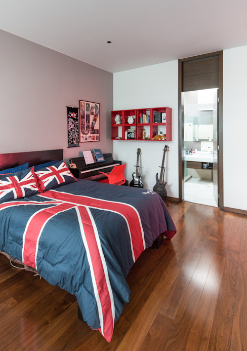 Small bedroom by TaAG Arquitectura
