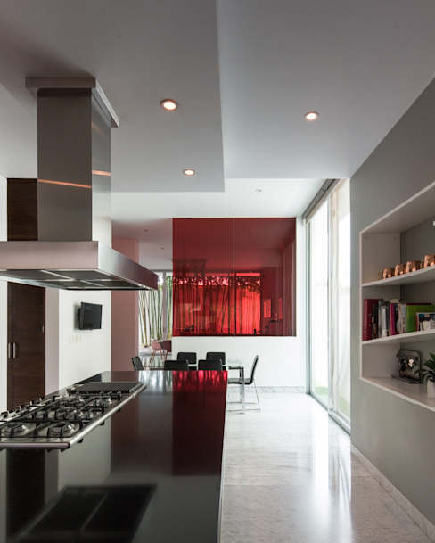Built-in kitchens by TaAG Arquitectura