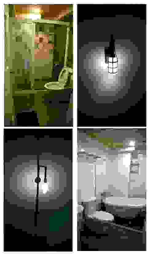 奕禾軒 空間規劃 /工程設計 Banheiros modernos