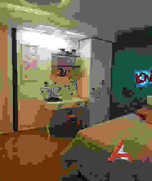 Dormitorio Nena de Aida tropeano& Asociados Moderno