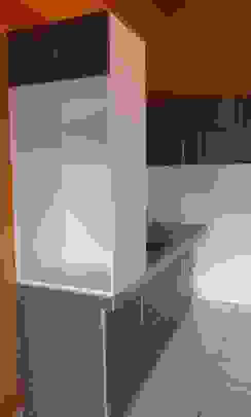 estante para microondas y dispensador de agua de ARDI Arquitectura y servicios Moderno Aglomerado