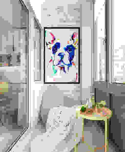 Квартира 75 м2 в стиле минимализм от Дизайн Студия Katushhha Минимализм