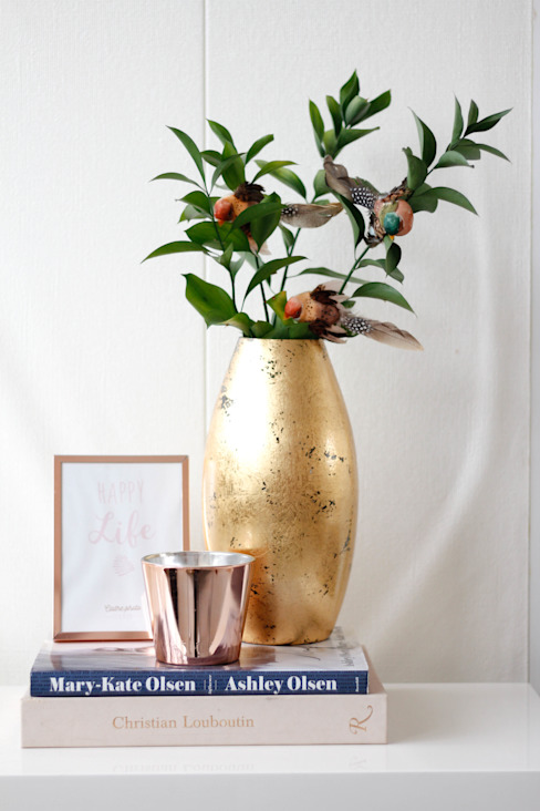 Salones de estilo moderno de Rita Salgueiro - Full Ideas Moderno