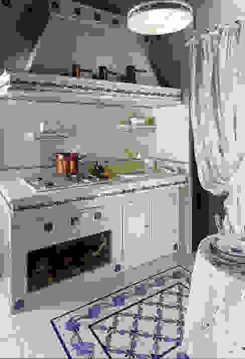 700 blu CERAMICHE MUSA Cucina moderna Ceramica