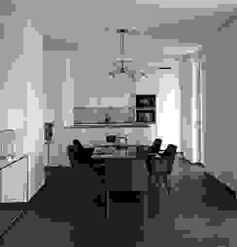 Wohnküche Moderne Esszimmer von Anastasia Reicher Interior Design & Decoration in Wien Modern