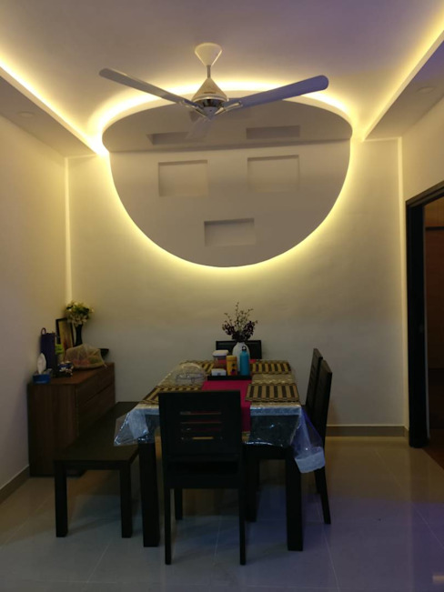 Interiors:  Dining room by SSDecor