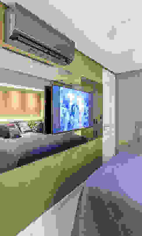 Dormitorios de estilo moderno de Arquitetura Sônia Beltrão & associados Moderno