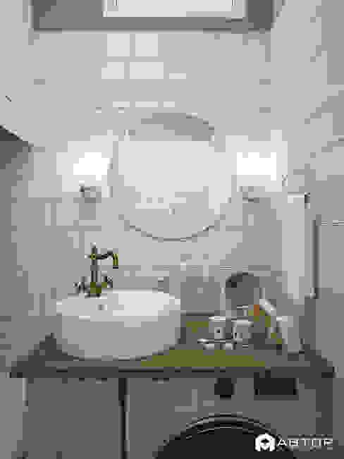 Туалетный столик Ванная комната в скандинавском стиле от Архитектурная студия 'АВТОР' Скандинавский