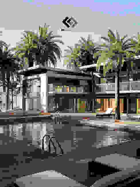 Residencia Miranda FG-Arquitectos Casas modernas