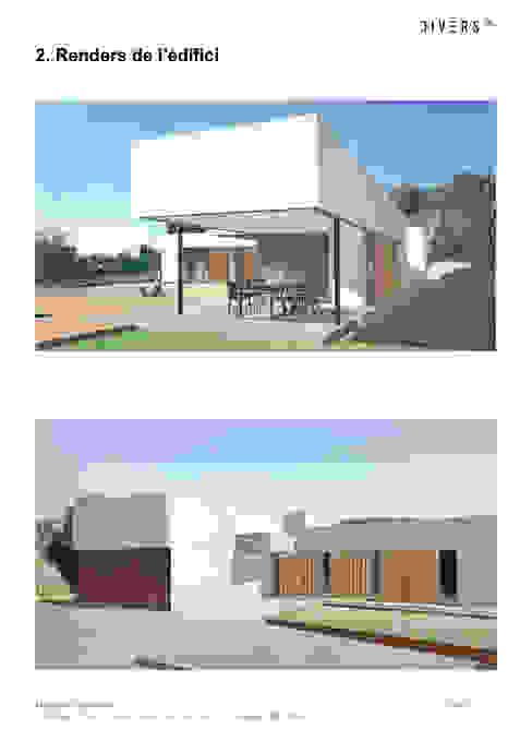 Imágenes de proyecto de Divers Arquitectura, especialistas en Passivhaus en Sabadell Moderno