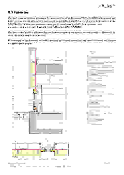 Detalle constructivo Divers Arquitectura, especialistas en Passivhaus en Sabadell