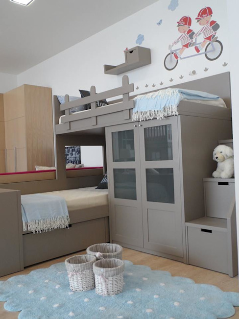 Nursery/kid's room تنفيذ Kids House