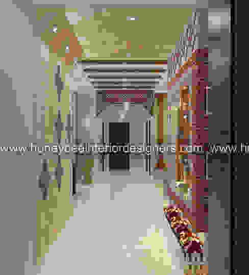 :  Living room by Honeybee Interior Designers ,