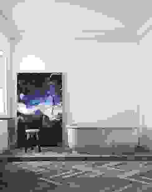 Apartment Paseo de Gracia Barcelona katty schiebeck studio Baños de estilo minimalista