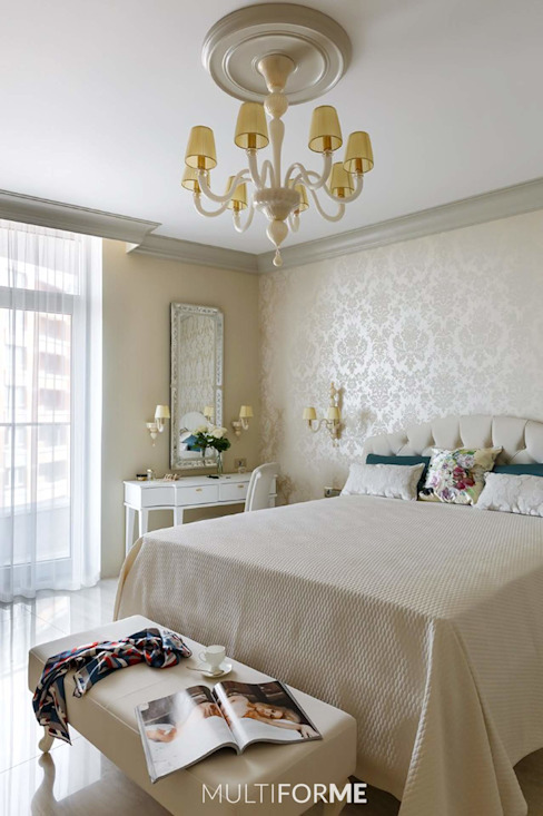 Classic style bedroom by MULTIFORME® lighting Classic