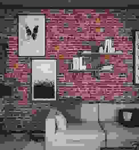 Shell libreria a parete Damiano Latini srl Soggiorno moderno Ferro / Acciaio Nero