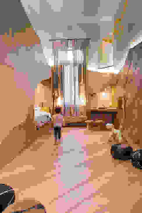 Cuarto de niños para CASA FOA 2018 Estudio Plok Dormitorios infantiles escandinavos