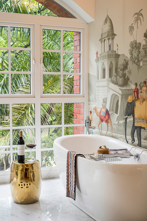 Phòng tắm phong cách hiện đại bởi Design Intervention Hiện đại