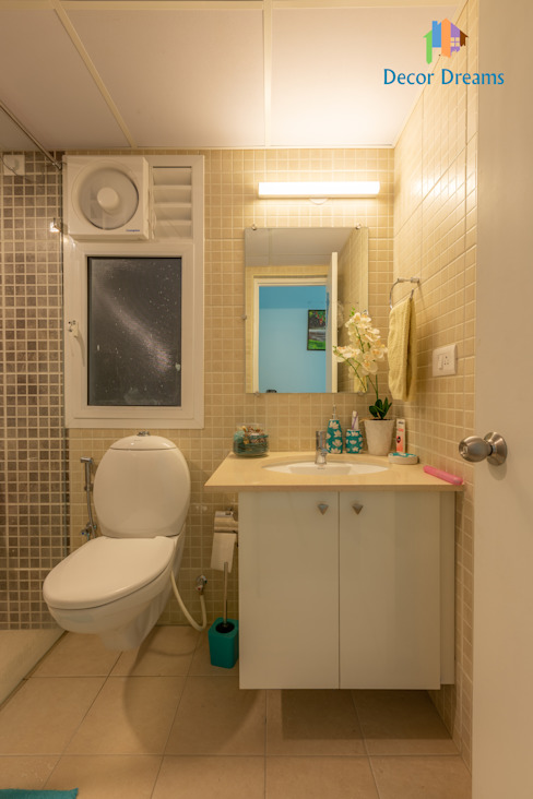 Brigade Meadows, 3 BHK—Dr. Usha & Dr. Mohan DECOR DREAMS Modern bathroom