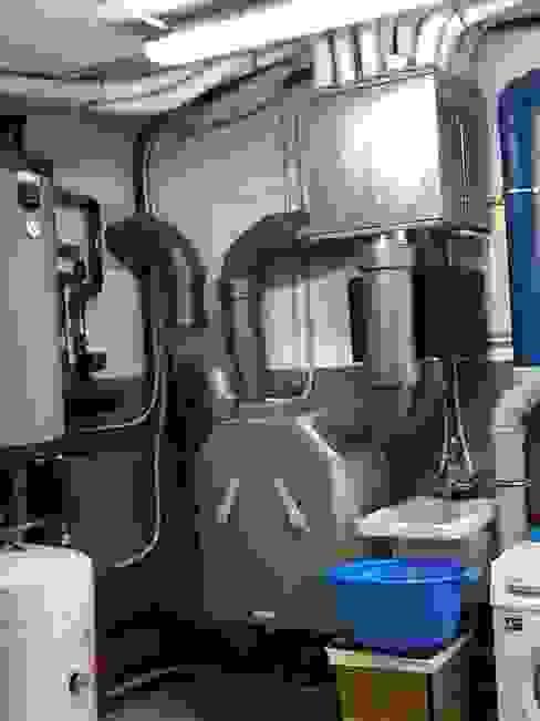 Maquina de ventilación Divers Arquitectura, especialistas en Passivhaus en Sabadell
