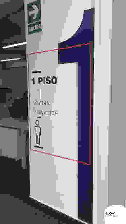 Fábrica Rexroth - Lima, Perú Paredes y pisos de estilo industrial de Blow Deco Pics Industrial