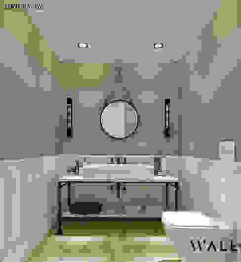 H.B. EVİ BANYO PROJESİ Rustik Banyo WALL INTERIOR DESIGN Rustik