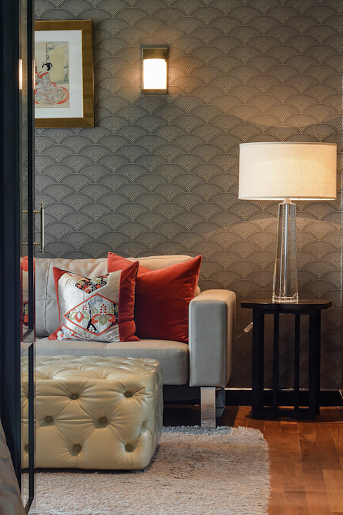 Design Intervention Asiatische Wohnzimmer