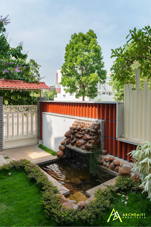 The Habitat Archemist Architects Garden Pond
