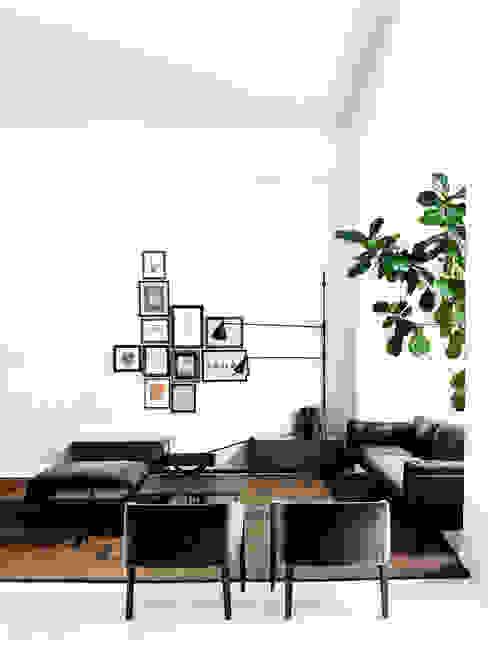 Sala de estar Salas de estar minimalistas por Nuno Ladeiro, Arquitetura e Design Minimalista