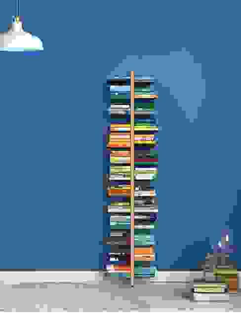 zia Bice libreria a muro h 195 Le zie di Milano SoggiornoArmadietti & Credenze Legno massello