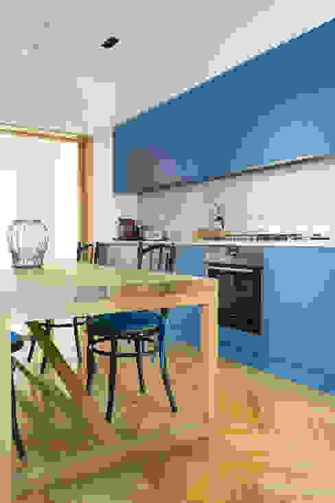 Blu rovere Arbit Studio Cucina attrezzata Legno Blu