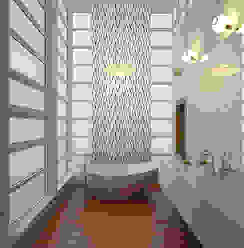 Papel tapiz personalizado en baño. Kromart Wallcoverings - Papel Tapiz Personalizado Baños clásicos