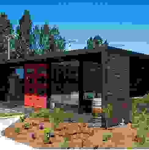 Local Emporio de productos gourmet INFINISKI Oficinas y Comercios Madera maciza Acabado en madera