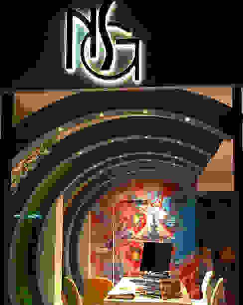 RESULTADO FINAL NSG interior Design & Projects, reformas y decoración en Mallorca Oficinas y tiendas de estilo moderno